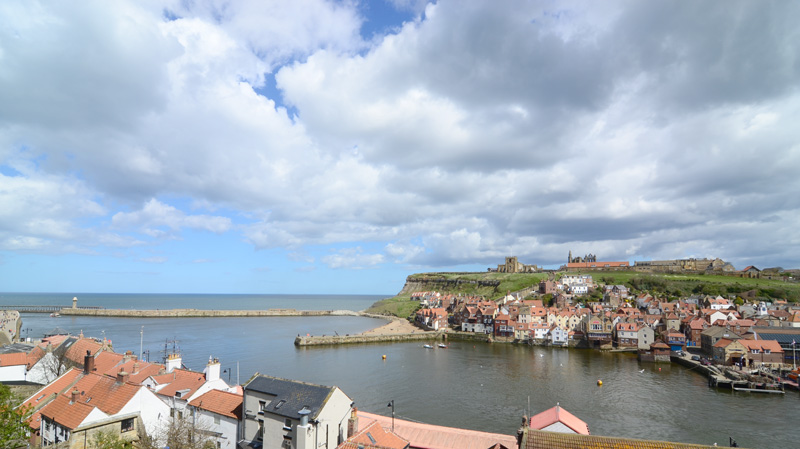 View from Cliff House Holiday Accommodation Whitby
